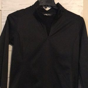 The north face 1/2zip up
